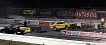 Drag Strip Wars: Big Block Camaro vs. Small Block Demon [Video]