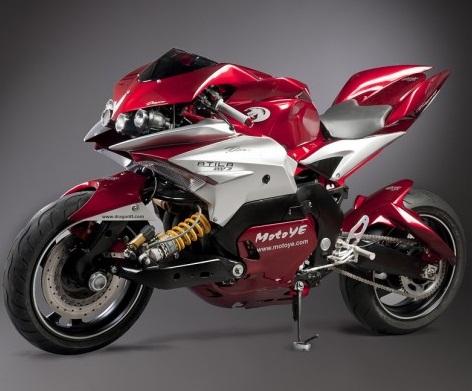 Dragon TT Atila 1000 R Concept Motorcycle - autoevolution