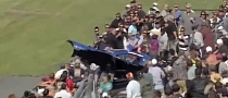 Dragster's Bodywork Blows Off, Flies Into Crowd [Video]