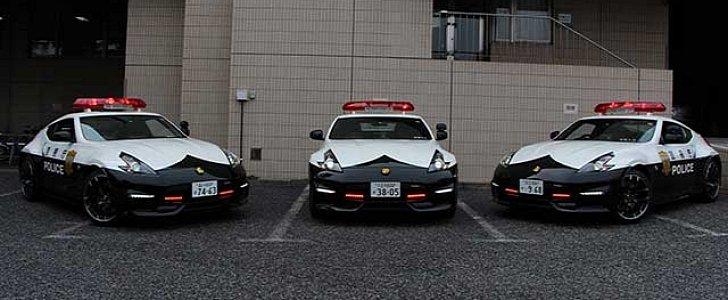 Drifters Beware: Tokyo Police Gets Nissan 370Z Nismo ...