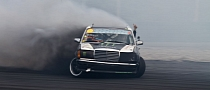 Drifting a Diesel is Art