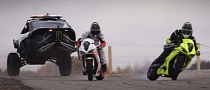 Driftpocalypse 3 Bike vs. Car Battle Brings a New Enemy [Video]