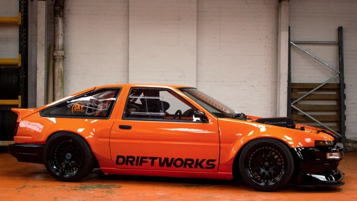Driftworks U2019 Toyota Corolla Ae 86 Is A V8 Beast