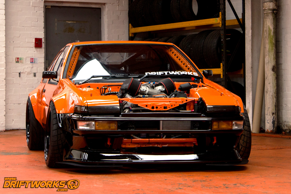 Driftworks Toyota Corolla Ae 86 Is A V8 Beast Autoevolution