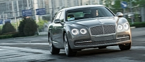 Drive the 2014 Bentley Flying Spur on Snow and Ice