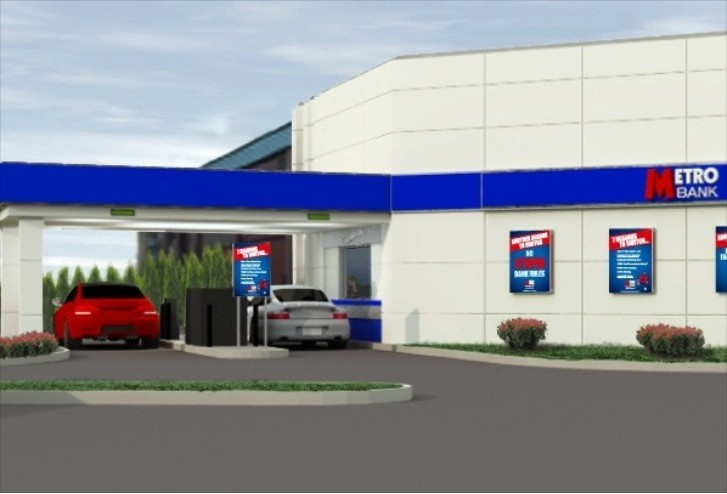 Drive-Thru ATMs from Metro Bank