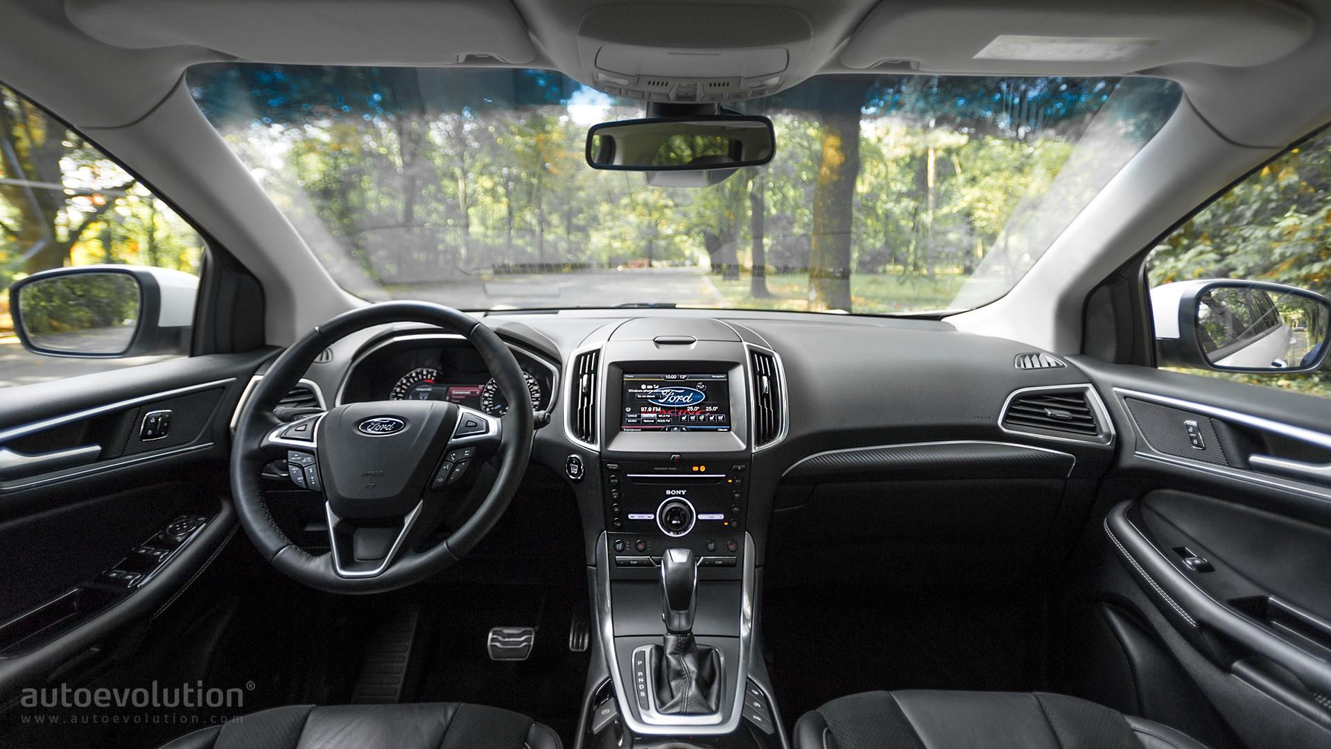 Driven 2016 Ford Edge 2 0 TDCi Bi Turbo 4x4 PowerShift Interior