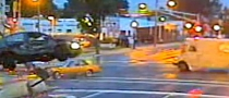 Driver Ignores Red Light With Severe Consequences [Video]