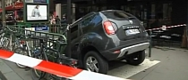 Driver Parks Dacia Duster into Paris Subway Station [Video]