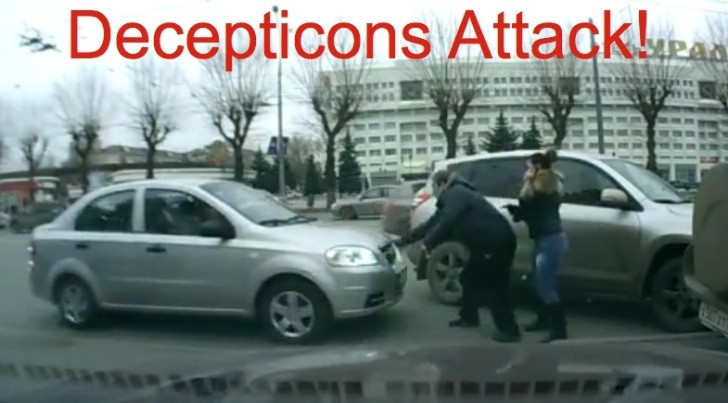 Driverless Chevrolet Aveo Attacks Pedestrians [Video]