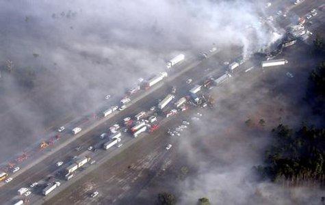 Florida 70 Car Pile Up 2008