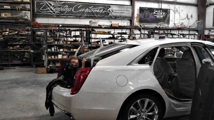 Drop Top Customs Announce Cadillac XTS Convertible ...