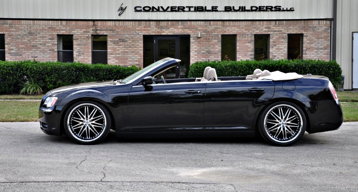 Four Door Convertible >> Drop Top Customs Renders Chrysler 300 Sedan Roofless - autoevolution