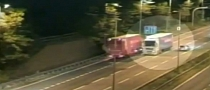 Drunk Hungarian Truck Driver Forgets He Is in the UK [Video]
