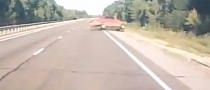 Drunk Lada Driver Crashes in Russia: Textbook [Video]