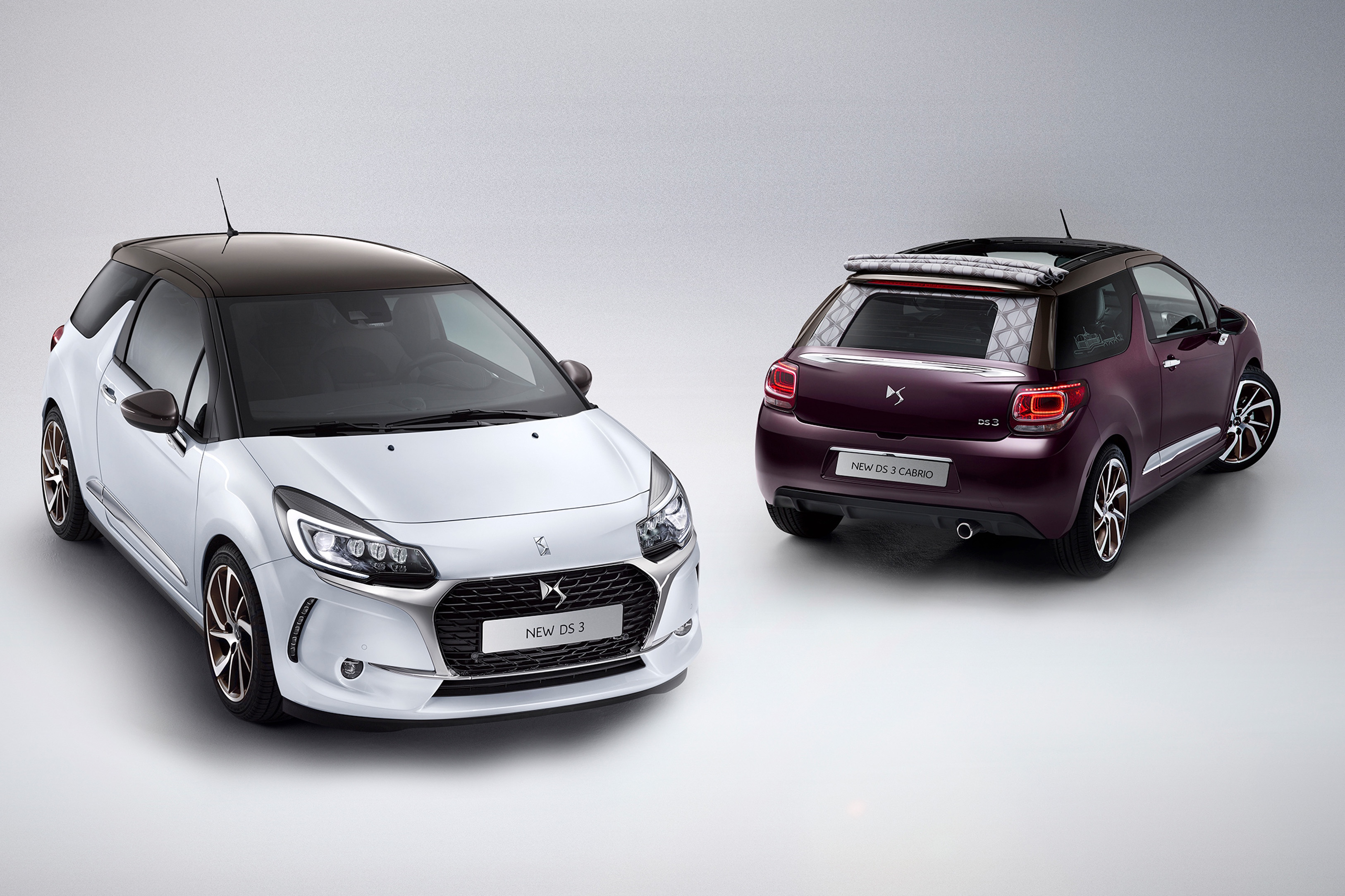 DS Automobiles Unveils Facelifted DS3 and DS3 Cabrio  autoevolution