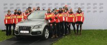 DSV Athletes Get New Audi Cars