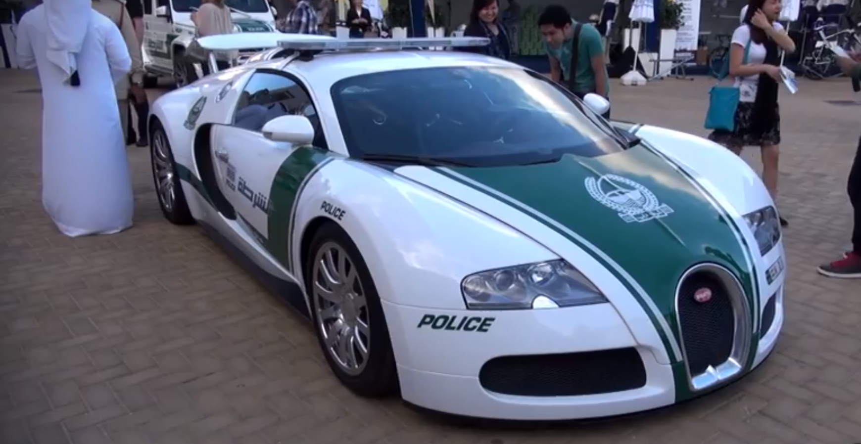 dubai police bugatti veyron is a 1000 hp patrol car autoevolution. Black Bedroom Furniture Sets. Home Design Ideas