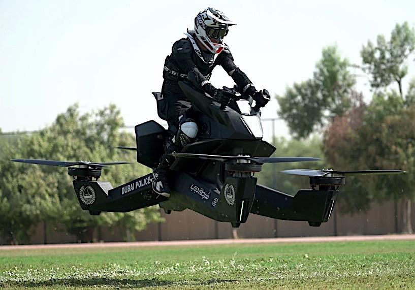 Dubai Police to Ride on Flying Bikes - autoevolution
