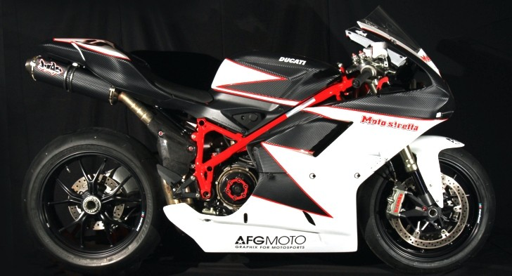 Ducati 1198 Carbon LifeForm Icon Tribute