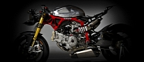 Ducati 1199 Panigale with Pierobon Trellis Frame XXX [Photo Gallery][Video]