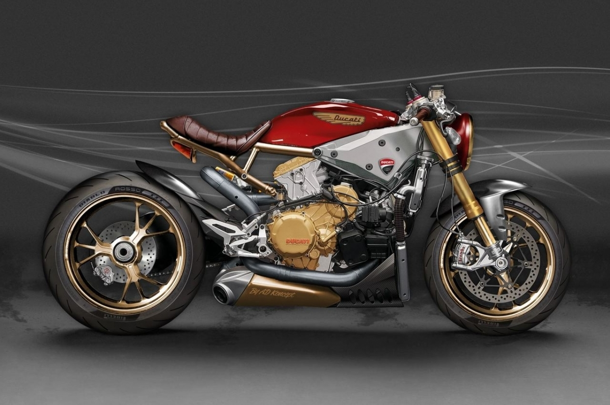 Ducati 1299 Panigale Cafe Racer Concept Looks As Extreme It