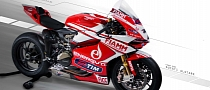 Ducati Alstare Shows the 2013 SBK Panigale R Weapon