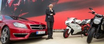 Ducati CEO Gabriele del Torchio Takes Delivery of a New CLS 63 AMG