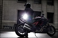 Diavel working its magic