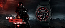 Ducati Fastrider Black Shield Tudor Is a Killer Watch [Photo Gallery][Video]