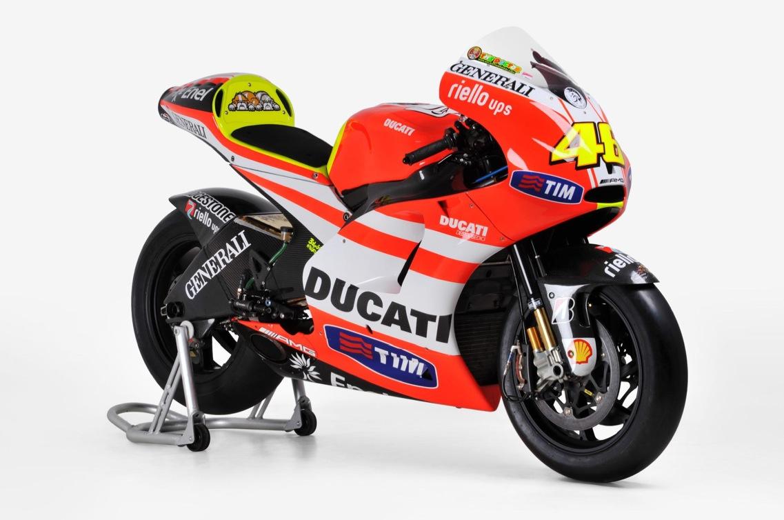 Ducati Race Bikes of Stoner and Rossi for Sale - autoevolution