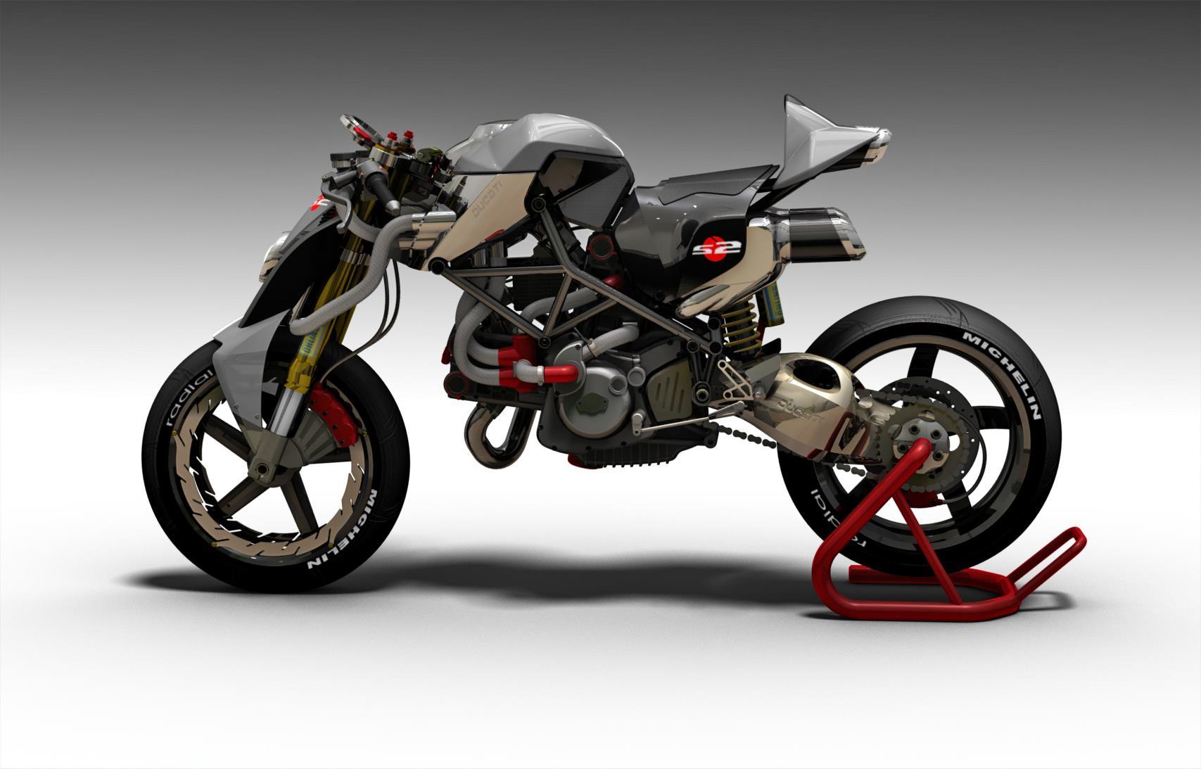 Ducati S2-ida Concept Fighter by Paolo Tesio - autoevolution