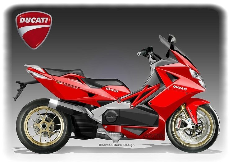 ducati scooter rumors not slashed imagination runs wild once more autoevolution. Black Bedroom Furniture Sets. Home Design Ideas