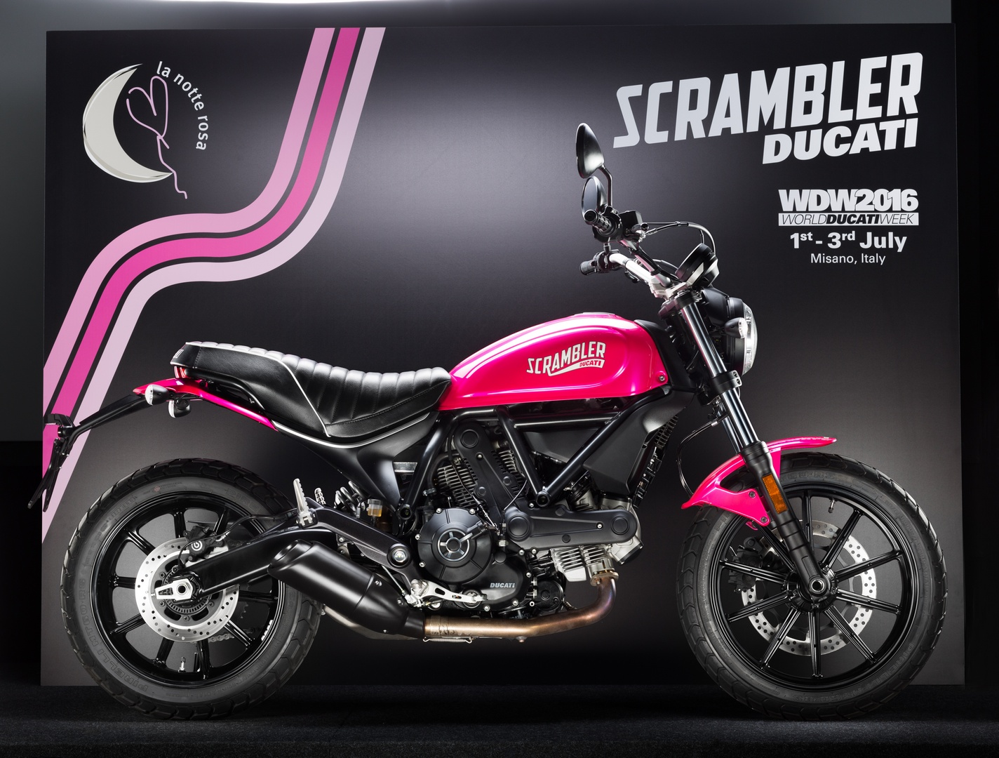 Ducati Scrambler Shocking Is A Pink Bike That Ladies Might Just Love