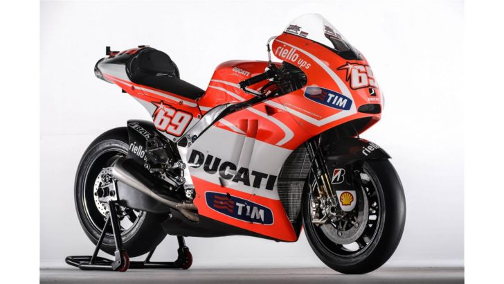 Ducati Shows Technical Data on the Desmosedici GP13 Bike