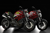 Ducati Monster Art GP colour schemes