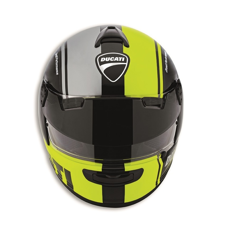 8b3a7b4a Ducati Unveils the HV-1 Pro Helmet by Arai, Combining Reflective and ...