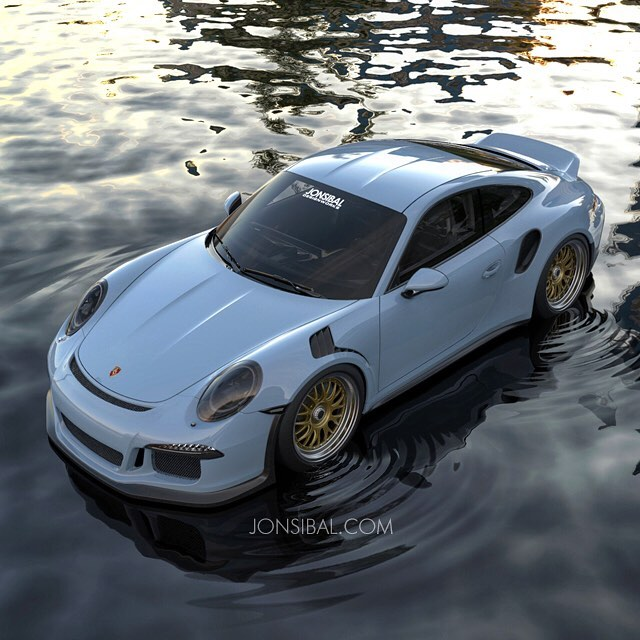 Ducktail Porsche 911 Gt3 Rs Rendered As The Solution To R