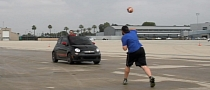 Dude Perfect Performs Amazing Stunt Session with Fiat 500C Abarth [Video]