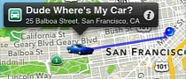 Dude, Where's My Car? Smartphone App