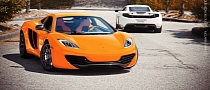 Duo: McLaren MP4-12C on PUR Wheels