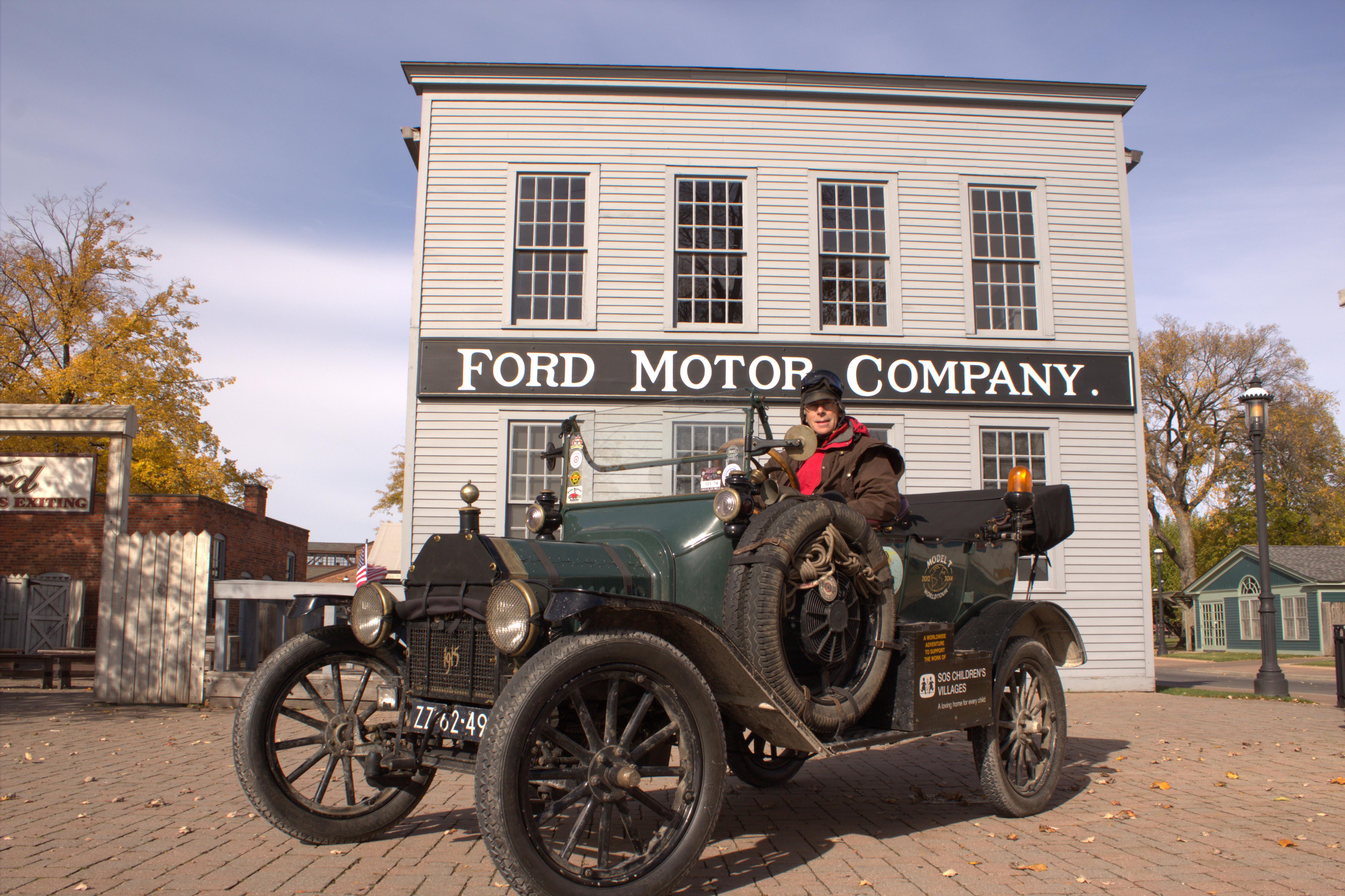 Dutch couple travel 80 000 mile journey around the world for Ford motor company charitable donations