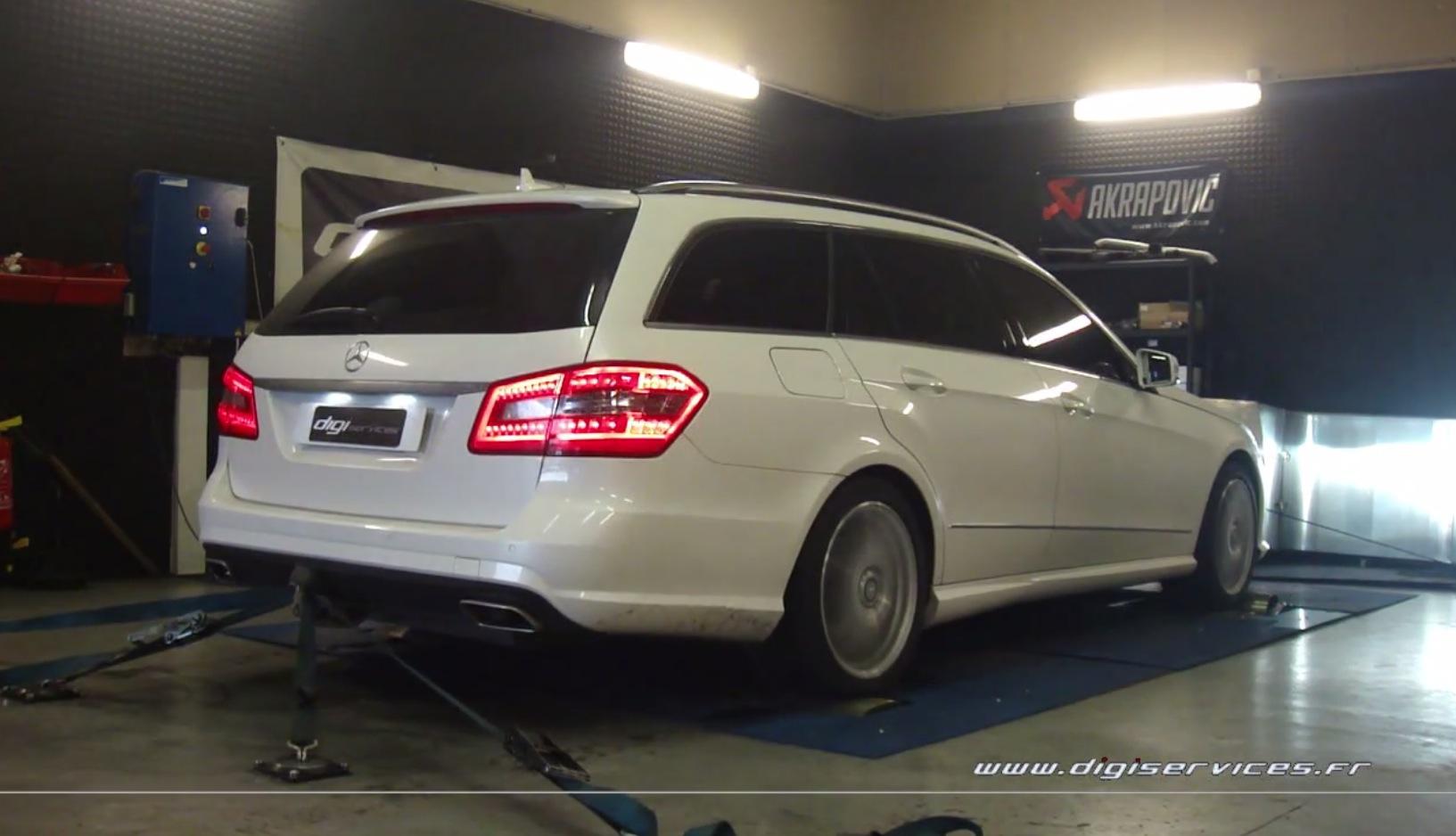 E 350 Cdi S212 Wagon Gets 313 Hp Via Chip Tuning