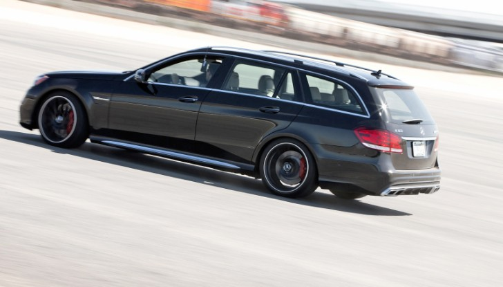 E 63 AMG S-Model Wagon Gets Tested by Edmund's [Photo Gallery]