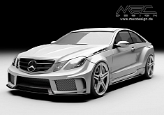 E-Class Coupe C207 Gets a Wide Bodykit From MEC Design [Photo Gallery]