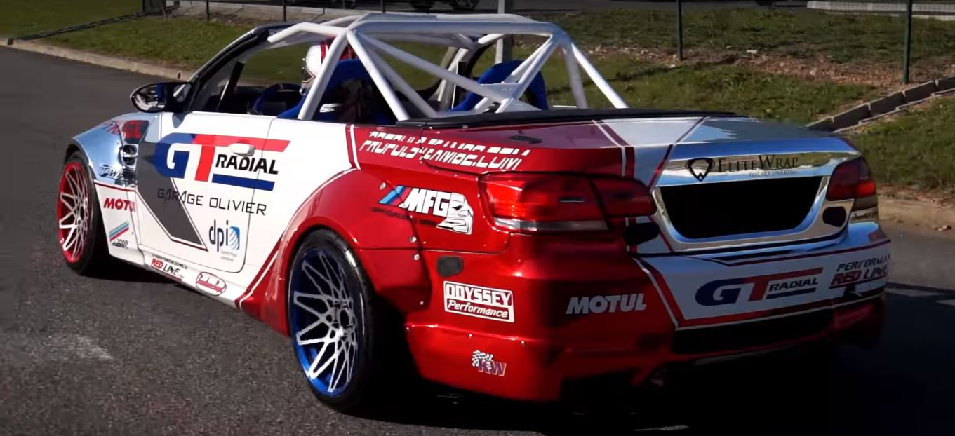 Bmw Convertible Drift Car Loses Its German For A