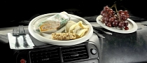 Eating while Driving Deadlier than Using the Phone