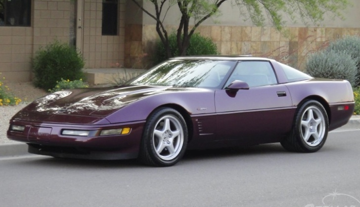 Ebay find rare c4 corvette zr1 with only 16k miles autoevolution