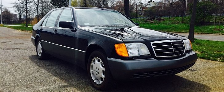 Ebay find two mercedes benz w140 s class with delivery for Classic mercedes benz for sale ebay