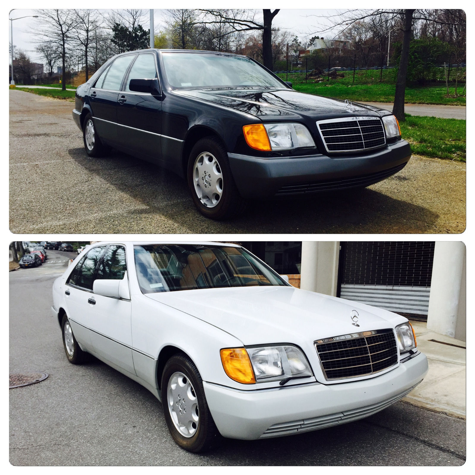 Ebay find two mercedes benz w140 s class with delivery for Mercedes benz mileage